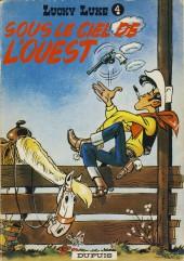 Lucky Luke -4b83- Sous le ciel de l'Ouest
