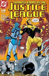 Formerly known as the justice league -6- A league of their own