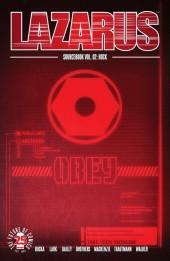 Lazarus (2013) -HS2- Sourcebook Vol.2: Hock