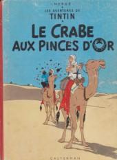 Tintin (Historique) -9B33- Le crabe aux pinces d'or