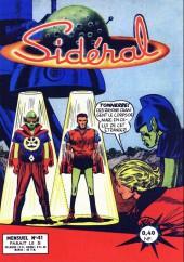 Sidéral (1re série) -41- L'homme metamorphose