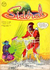 Sidéral (1re série) -45- La menace de l'arme liquéfiante