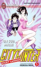 City Hunter - Nicky Larson -5- Un sur mille