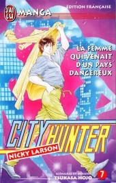 City Hunter - Nicky Larson -7- La Femme qui venait d'un pays dangereux