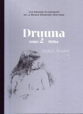 Les grands Classiques de la Bande Dessinée érotique - La Collection -3439- Druuna - Tome 2 Delta