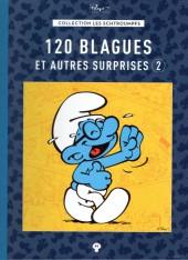 Les schtroumpfs - La collection (Hachette) -41- 120 blagues et autres surprises 2