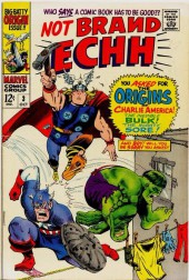Not Brand Echh (Marvel comics - 1967) -3- Numéro 3