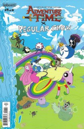 Adventure Time x Regular Show -1B- Adventure Time x Regular Show Part 1 Of 6