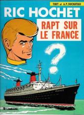 Ric Hochet -6a81- Rapt sur le France