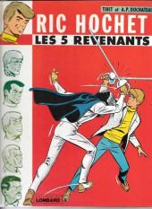 Ric Hochet -10b1979'- Les 5 revenants