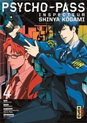 Psycho-Pass - Inspecteur Shinya Kôgami -4- Tome 4