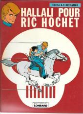 Ric Hochet -28a79- Hallali pour Ric Hochet