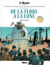 Les grands Classiques de la littérature en bande dessinée -16- De la Terre à la Lune