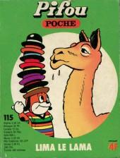 Pifou (Poche) -115- Lima le lama