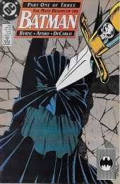 Batman (1940) -433- The Many Death of the Batman Chapter one: Period of Mourning