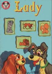 Votre série Mickey (2e série) - Albums Filmés ODEJ -26- Lady