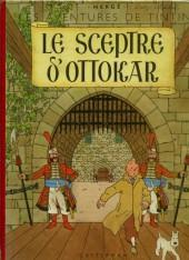 Tintin (Historique) -8B08- Le sceptre d'Ottokar