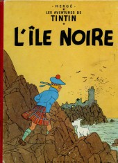 Tintin (Historique) -7B16- L'île noire