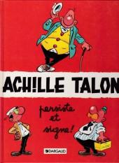 Achille Talon -3d95- Achille Talon persiste et signe !