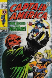 Captain America (1968) -115- Now Begins The Nightmare!