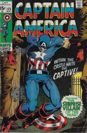Captain America (1968) -125- Captured..in Vietnam!
