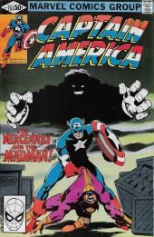 Captain America (1968) -251- The Mercenary and the Madman