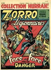 Hurrah! (Collection) -40- Face à face avec le danger (Zorro et les légionnaires)