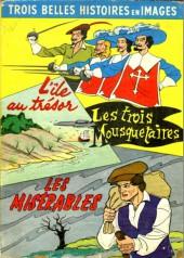 Petit faon -3'- L'île au trésor - Les trois Mousquetaires - Les Misérables - Trois belles histoires en images