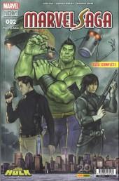 Marvel Saga (4e série - 2017) -2- Hulk : Pépins dans la grosse pomme