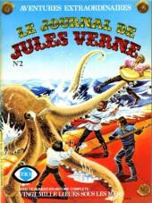 Jules Verne (Le Journal de) - Aventures extraordinaires -2- Vingt mille lieues sous les mers