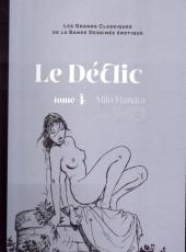 Les grands Classiques de la Bande Dessinée érotique - La Collection -364- Le Déclic - tome 4