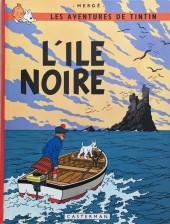 Tintin (Historique) -7C3ter- L'île noire