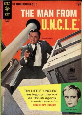 Man from U.N.C.L.E. (The) (Gold Key - 1965) -5- (sans titre)