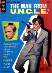 Man from U.N.C.L.E. (The) (Gold Key - 1965) -8- The Floating People Affair