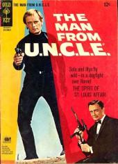 Man from U.N.C.L.E. (The) (Gold Key - 1965) -9- The Spirit of St. Louis Affair