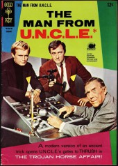 Man from U.N.C.L.E. (The) (Gold Key - 1965) -10- The Trojan Horse Affair