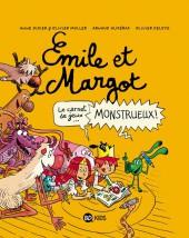 Emile et Margot -HS- Le carnet de jeux... monstrueux !