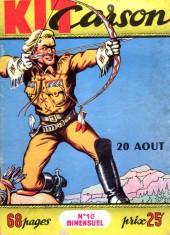 Kit Carson -10- La ceinture de paix des Pawnees