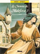 Les chemins de Malefosse -7- La vierge