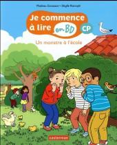 Je commence à lire en BD : CP -2- Un monstre à l'école