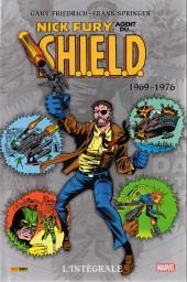 Nick Fury, agent du S.H.I.E.L.D. (L'intégrale) -3- 1969-1976