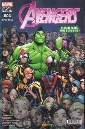 Avengers (Marvel France - 2017) -3- Pas de repos pour les braves