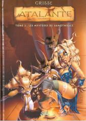 Atalante - La Légende -3- Les Mystères de Samothrace