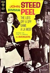 John Steed Emma Peel (The Avengers - Gold Key - 1968)