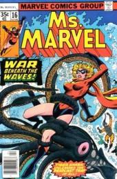 Ms. Marvel (1977) -16- The deep deadly silence!