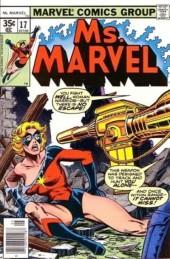 Ms. Marvel (1977) -17- Shadow of the gun!