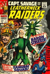 Captain Savage and his Leatherneck Raiders (1968) -2- The return of Baron Strucker