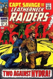 Captain Savage and his Leatherneck Raiders (1968) -3- Two Against HYDRA !