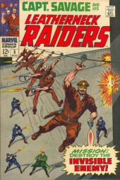 Captain Savage and his Leatherneck Raiders (1968) -5- Mission: Destroy the Invisible Enemy !