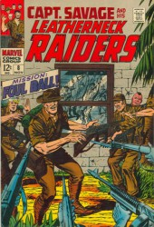 Captain Savage and his Leatherneck Raiders (1968) -8- Mission: Foul Ball !